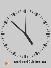 Grey clock | 240*320