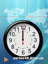 Clock map | 240*320
