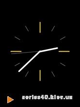 Clock Black | 240*320