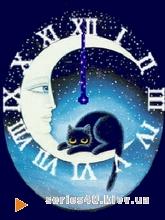 Cat on Moon | 240*320