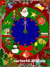 Christmas clock | 240*320