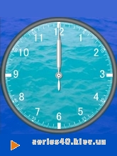 Landscape Clock - Water | 240*320