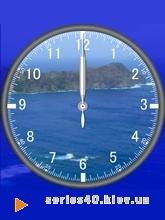 Landscape Clock - Gulf | 240*320