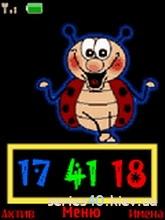 Bug Flash Clock | 240*320