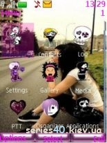 Emo girls by VOVAN_234 | 240*320
