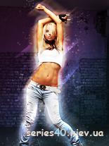 Girl in dance by saik32 | 240*320