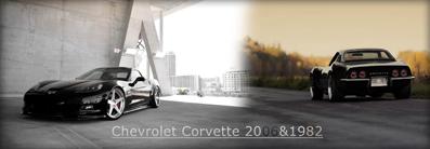Chevrolet Corvette 1982&2006 | 240*320