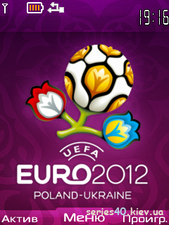 UEFA EURO 2012 (3 colors) + [16 teams] by MYa | 240*320