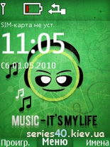 MUSIC - IT'S MY LIFE by Mishany   240*320
