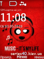 MUSIC - IT'S MY LIFE by Mishany | 240*320