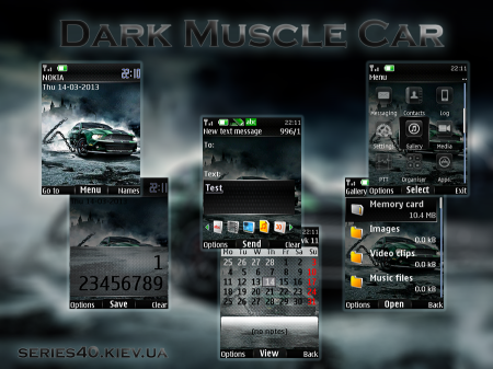 Dark Muscle Car by SimriZe | 240*320