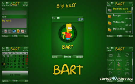 5 Simpsons themes by Koss | 240*320