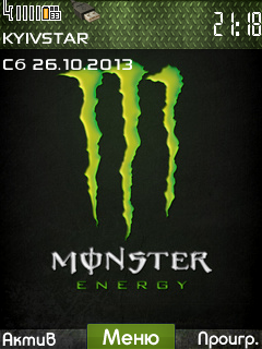 Monster Energy by Vadim | 240*320