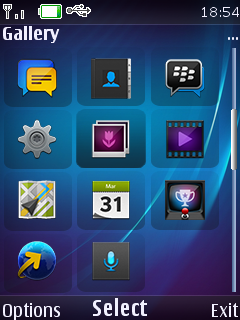 Blackberry OS10 by intel | 240*320