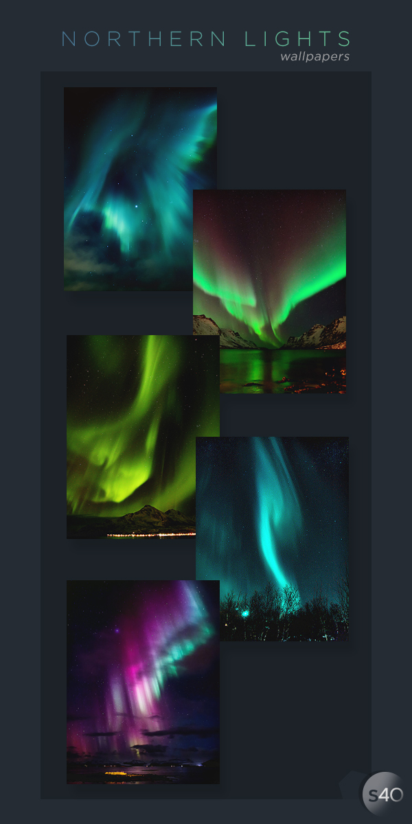 Northern Lights x15 | 240*320