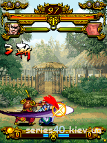 The Three Kingdoms Guan Yun battles Cao Zei (China)   240*320