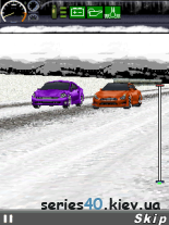 Fast And Furious: Fugitive 3D (Winter MOD) | 240*320